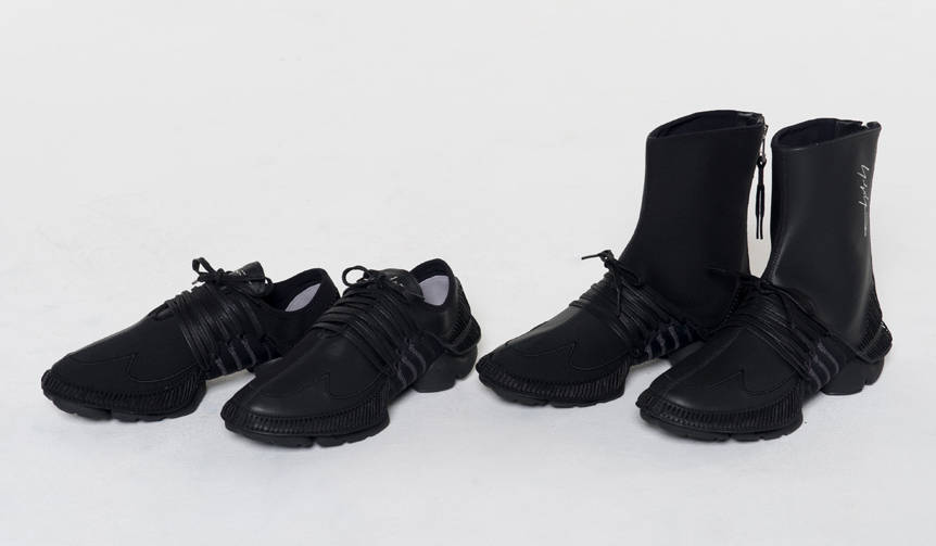 ヨウジヤマモトとアディダスによるコラボレーションスニーカー|Yohji Yamamoto × adidas