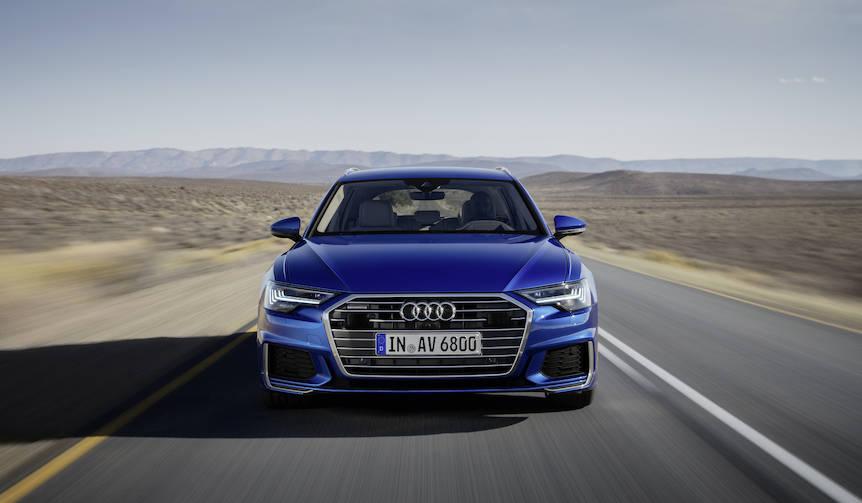 「A6 アバント」がフルモデルチェンジ|Audi