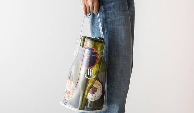 「温泉のマーク」の刺繍がアクセントに。ポリ塩化ビニル製バッグをリリース |新吉原