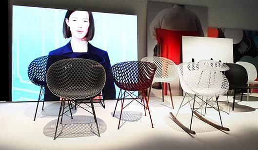 吉岡徳仁氏が手掛けた「MATRIX chair」|Kartell