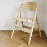 エゴン・アイアーマンによる折りたたみ椅子「SE18」がビーチ材で登場|METROCS