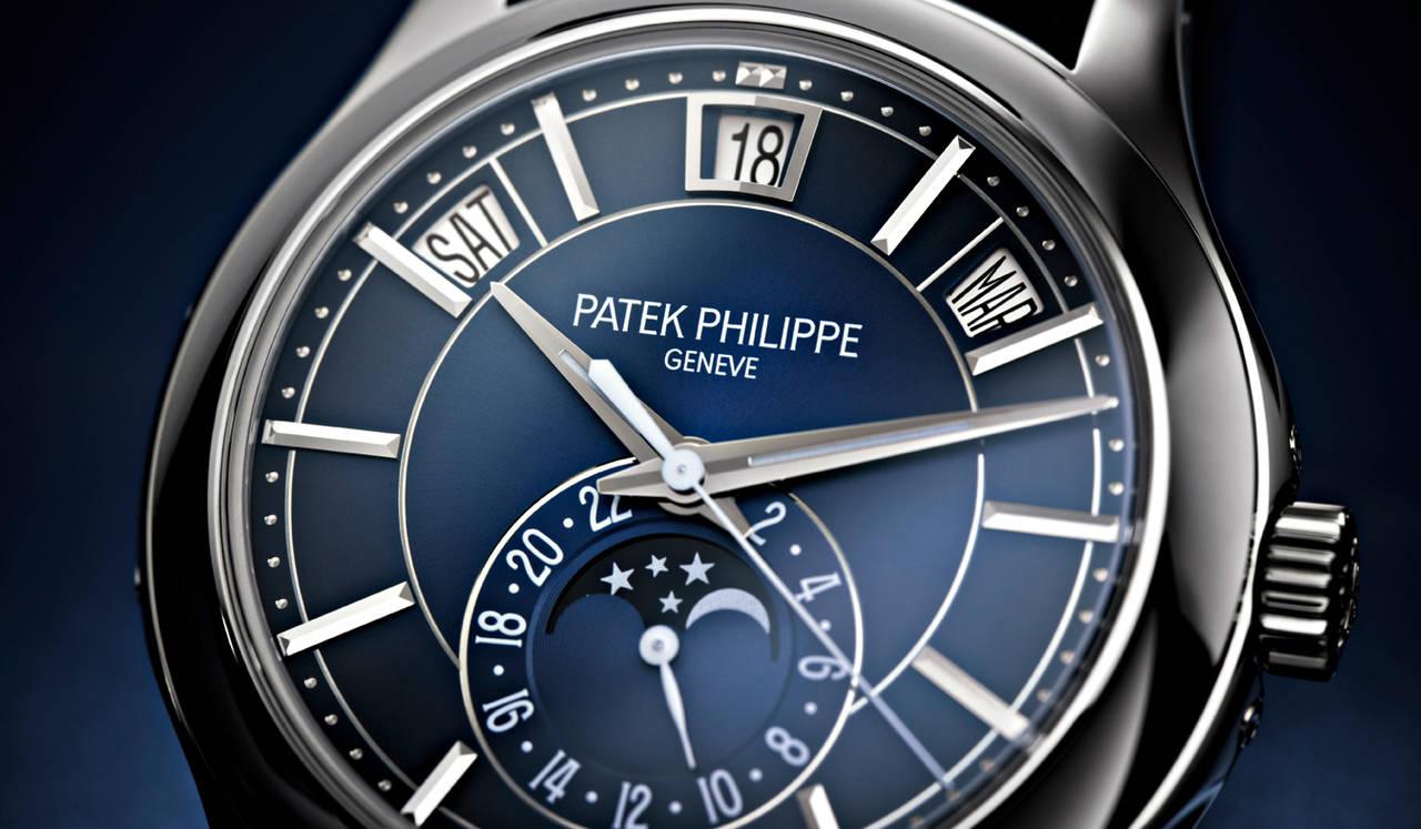 ブルー・ブラック・グラデーション文字盤を搭載したNEW年次カレンダー|PATEK PHILIPPE