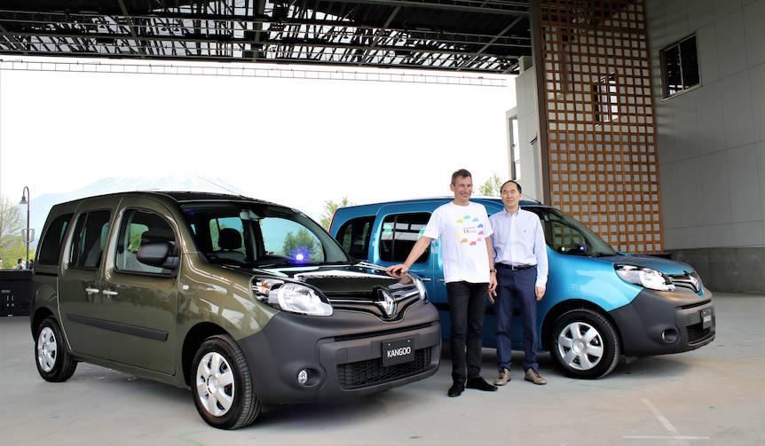 ルノー、カングーに新色のクルール発売 Renault
