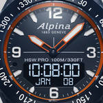 多彩なセンサーを搭載したアウトドアスマートウオッチ「アルパイナーX」 ALPINA