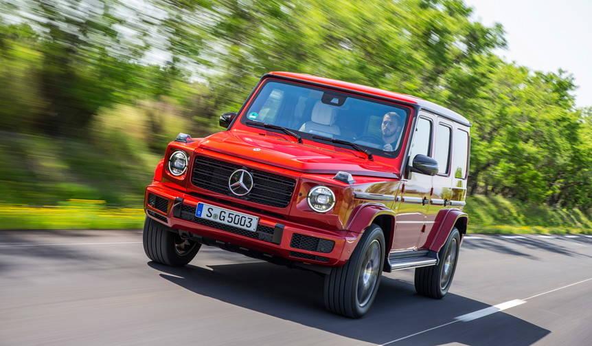 新型メルセデス・ベンツGクラスに試乗|Mercedes-Benz