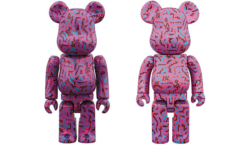BE@RBRICK KEITH HARING #2 100% & 400% / 1000%|MEDICOM TOY