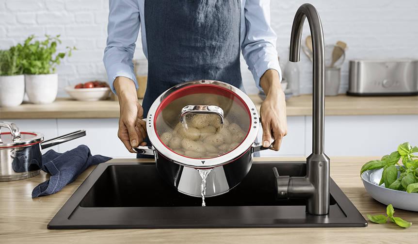 ドイツ発、4つの機能が1つの鍋に。WMFの「ファンクション フォー」|WMF