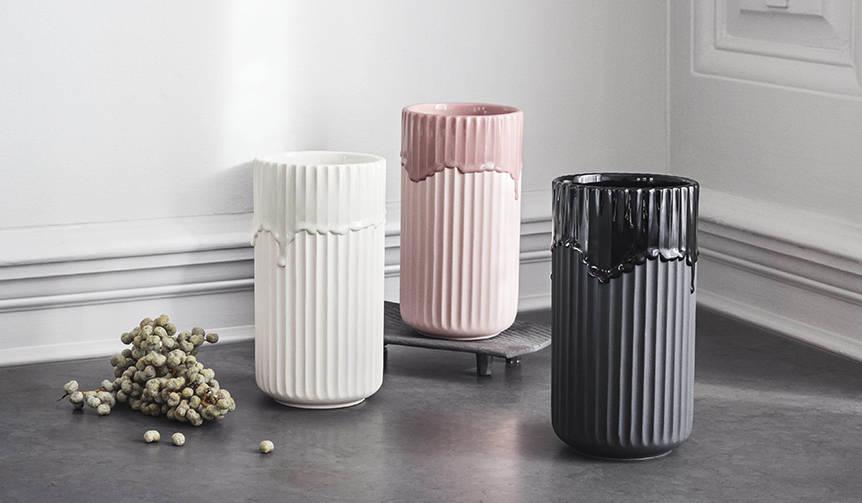 ブランドのアイコン「リュンビューベース」に新商品が登場|Lyngby Porcelæn