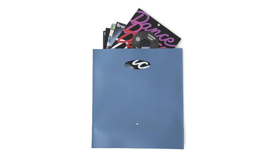 7インチレコードを約30枚収納できるバッグ|COET × BEAMS RECORDS