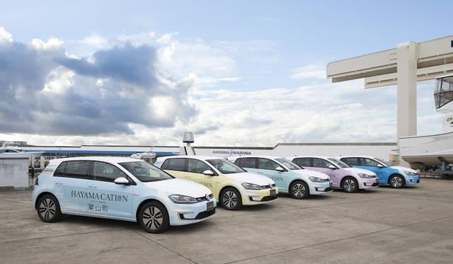 葉山でeゴルフを楽しむ「e-HAYAMACATION」始動|Volkswagen