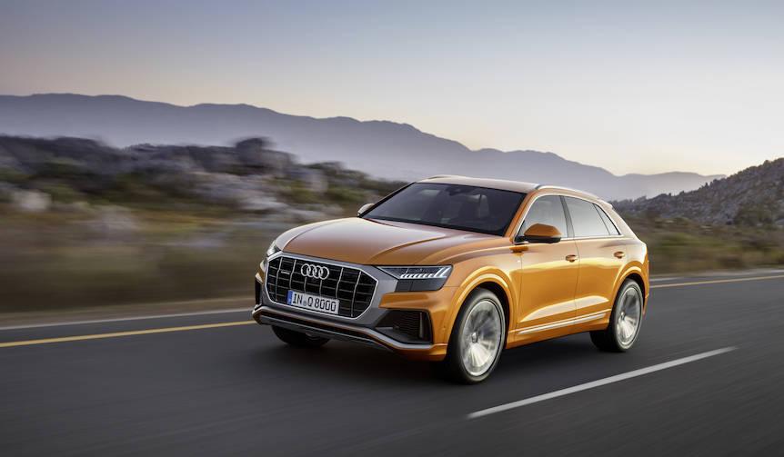 アウディが大型SUVクーペ「Q8」をワールドプレミア|Audi