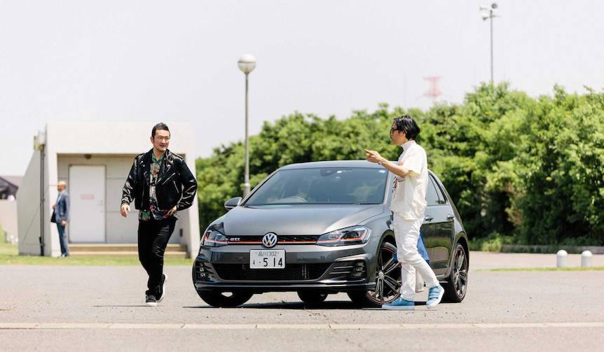中村獅童がゴルフGTI Dynamicで繰り広げるUnexpectedな旅 Volkswagen