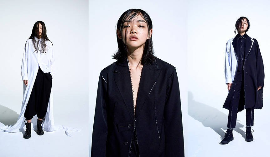 ヨウジヤマモトの新ライン「B Yohji Yamamoto」の2018年秋冬コレクション|Yohji Yamamoto