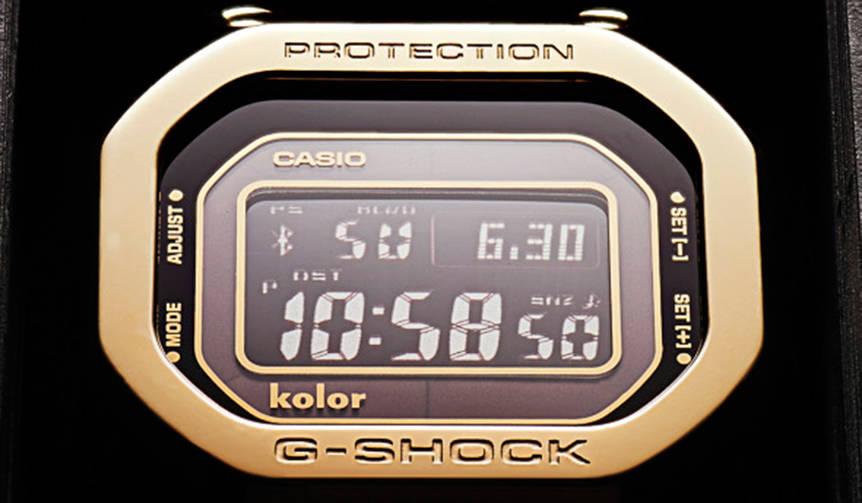KolorとG-SHOCKのコラボレーションモデルが限定700本でリリース|CASIO