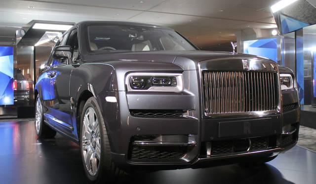 ロールズのSUV「カリナン」日本上陸|Rolls-Royce