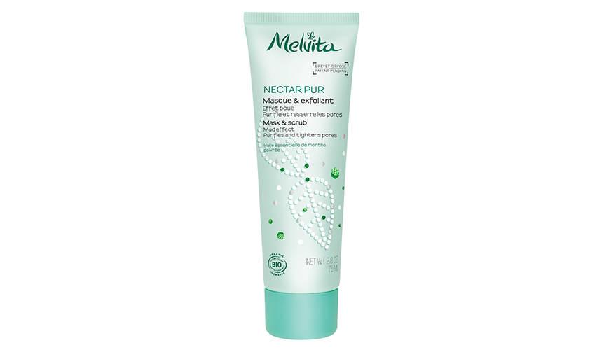 「ネクターピュア マスク&スクラブ」で夏の毛穴悩みを解決|MELVITA