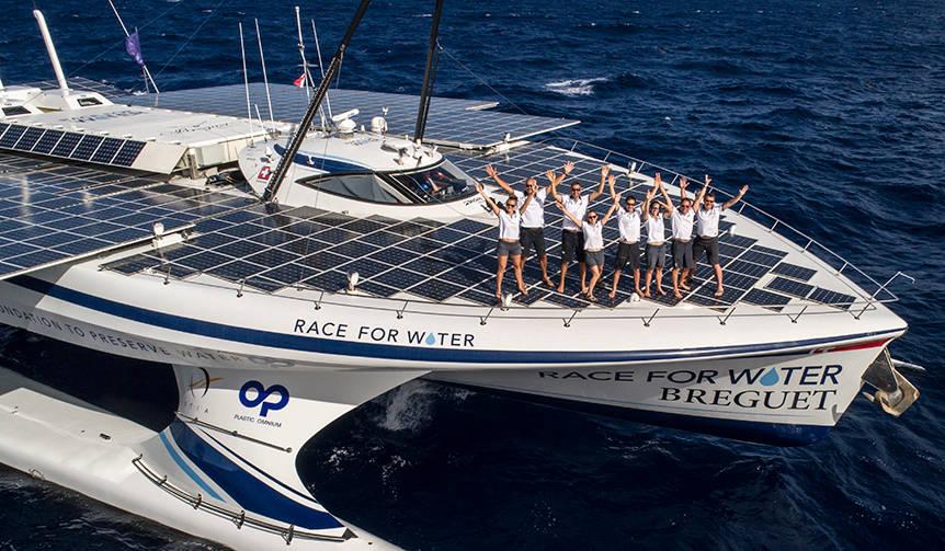 ブレゲが海洋資源保護団体レース・フォー・ウォーターとパートナーシップを締結|BREGUET