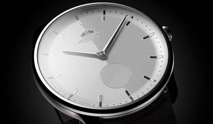 100年の眠りから覚めたブランドが放つミニマルな新作ウオッチ|Carl Suchy & Söhne