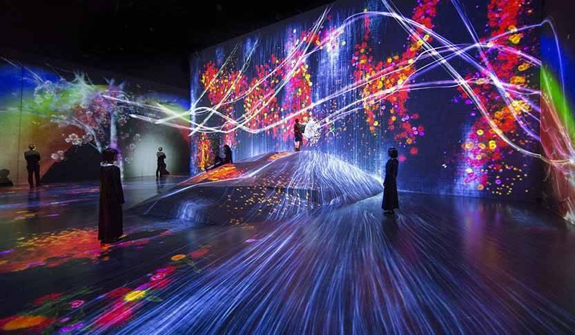 世界が注目するデジタルアート集団、チームラボによるミュージアムがOPEN|ART