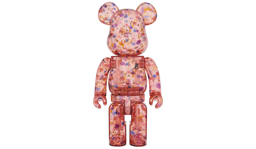 BE@RBRICK ANREALAGE (CLEAR RED Ver.) 100% & 400%|MEDICOM TOY