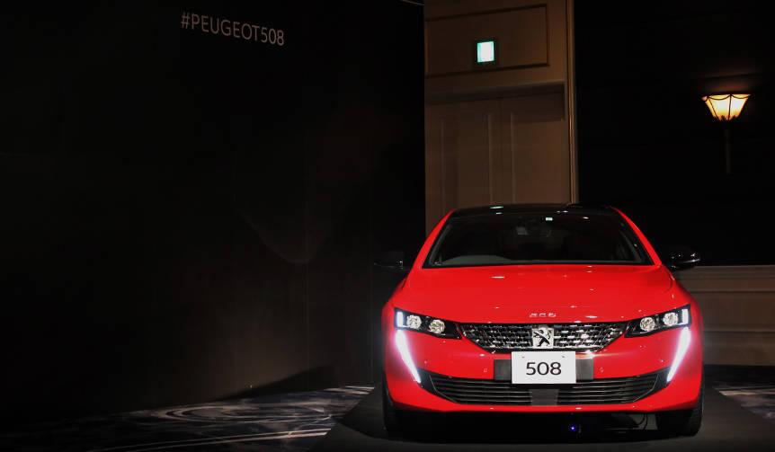 新型プジョー508日本上陸 Peugeot