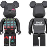BE@RBRICK SPACE INVADERS 400% & MLE SPACE INVADERS シリーズ|MEDICOM TOY