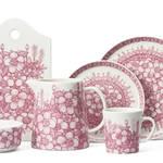 サマーハウスに咲き乱れる優しいピンクの野薔薇がモチーフ ARABIA