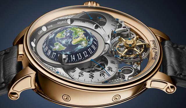 アワー グラス銀座店でボヴェの希少な天文時計を期間限定展示|BOVET