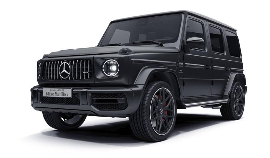 内外装をブラックで統一したAMG G 63を期間限定で受注|Mercedes-AMG