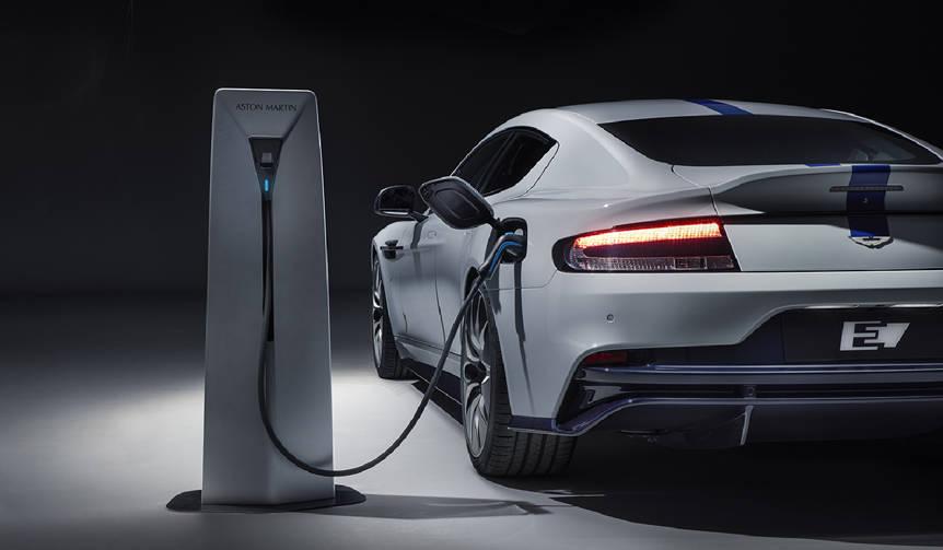 アストンマーティン、生産バージョンのEV「ラピードE」を公開|Aston Martin