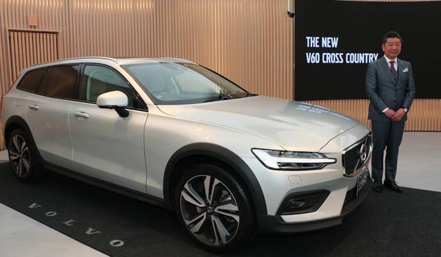 新型V60クロスカントリーを発表|Volvo