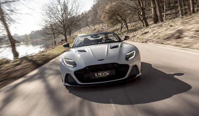 アストンマーティン「DBS スーパーレッジェーラ ヴォランテ」デビュー Aston Martin