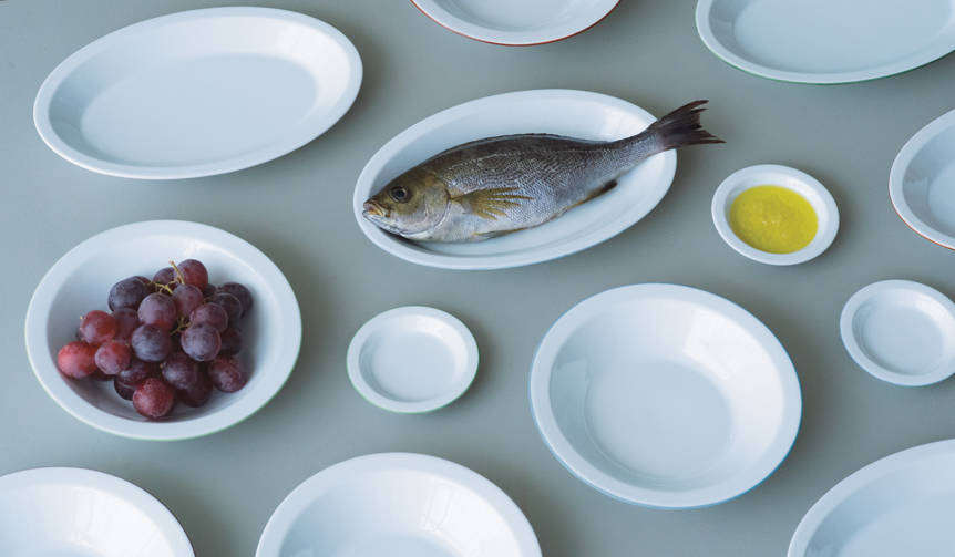 ガラス作家山野アンダーソン陽子氏がデザインしたセラミックテーブルウェアシリーズ|Yoko Andersson Yamano
