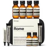 旅慣れたトラベラーが持つ必需品「ローマ シティー キット」|Aēsop