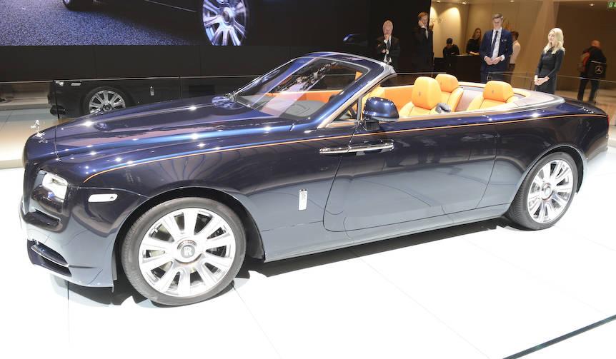 ロールス、新型オープンカー「ドーン」を発表|Rolls-Royce