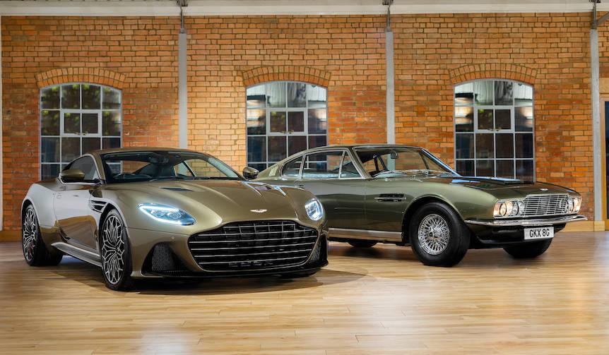 アストンマーティン、007にヒントを得たDBSスーパーレッジェーラを発表 Aston Martin