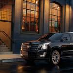 全身ブラックの特別なキャデラック エスカレード|Cadillac