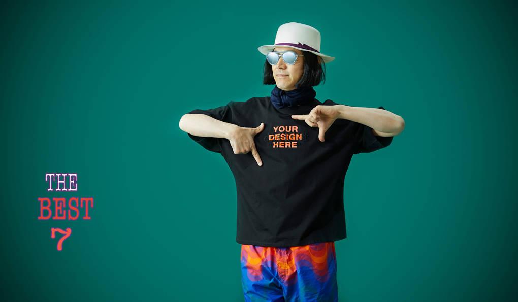 「東京ブランドのTシャツ」