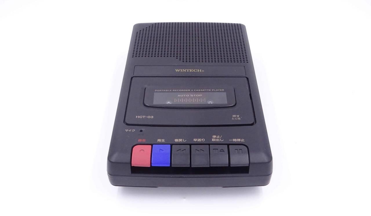 レトロな佇まいのポータブル・テーププレイヤー/レコーダー|WINTECH
