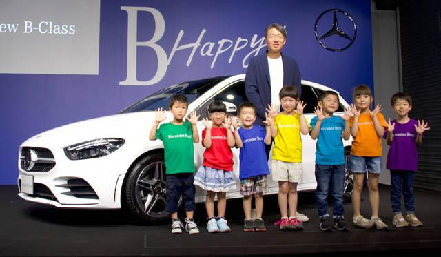 新型メルセデス「Bクラス」登場|Mercedes-Benz