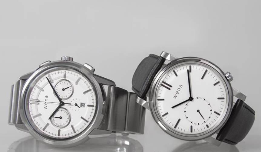 ソニーの「wena™ wrist」から、新型ヘッド2モデルが登場|Sony