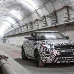 イヴォーク コンバーチブル、地下を激走|Range Rover ギャラリー