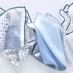 初夏の装いに華やかさをくわえるフェアファクスのポケットチーフ|FAIRFAX ギャラリー