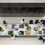 全長約6.5メートルの巨大キッチン「MEGA KITCHEN」の取り扱いを開始|TOYO KITCHEN STYLE ギャラリー
