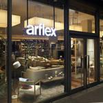 インテリアと書籍が織りなす「アルフレックス 玉川」の魅力|Arflex ギャラリー