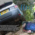 スマートフォンで操作できるレンジローバースポーツ|Jaguar Land Rover ギャラリー