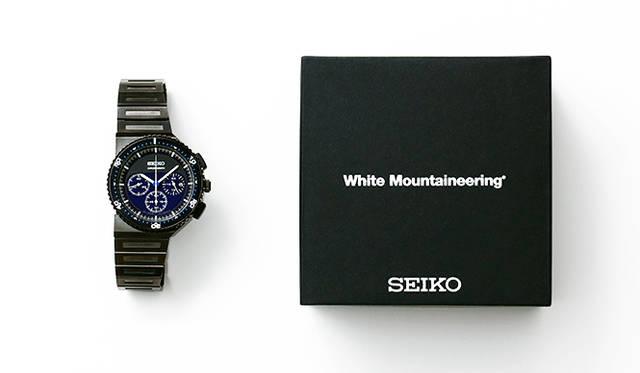ジウジアーロの傑作「ホワイトマウンテニアリング」別注で700本販売|SEIKO ギャラリー