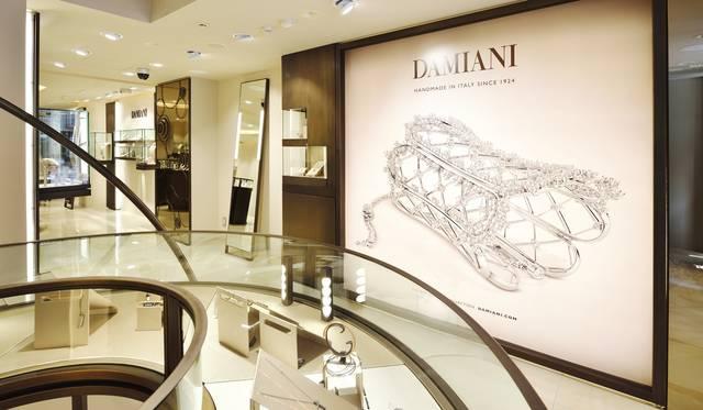 「ダミアーニ 銀座タワー」が誕生|DAMIANI ギャラリー