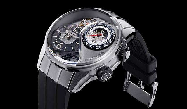 機械式腕時計にスピードメーターを搭載|BREVA ギャラリー