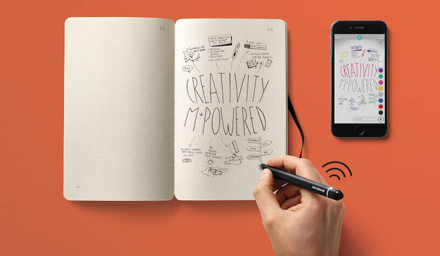 アナログとデジタルを繋ぐ「スマートライティングセット」|MOLESKINE ギャラリー